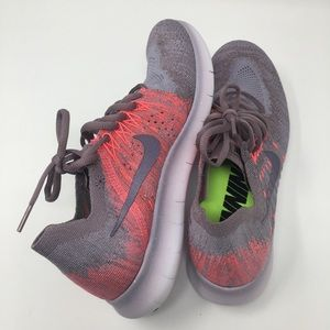 f787bdff79574 Nike Shoes | Womens Free Rn Flyknit 2017 Taupe Grey | Poshmark
